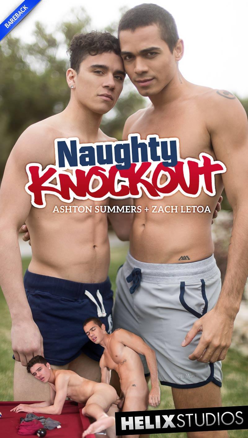 Naughty Knockout (Ashton Summers Fucks Zach Letoa) at HelixStudios