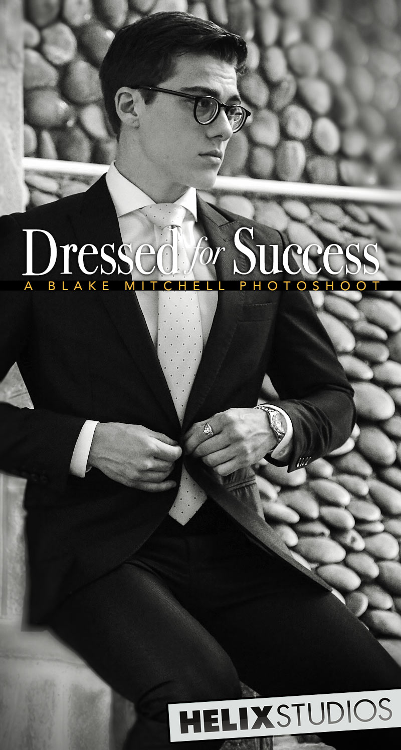 Dressed For Success (A Blake Mitchell Photoshoot) at HelixStudios