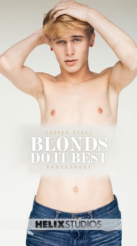 Cooper Steel (Blonds Do It Best) at HelixStudios