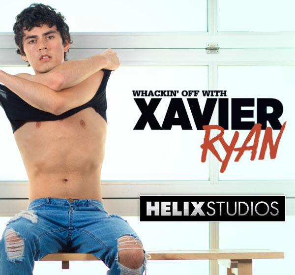Whackin' Off With Xavier Ryan at HelixStudios
