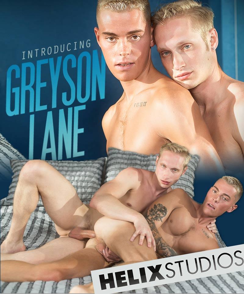 Introducing Greyson Lane (with Max Carter) (Bareback) at HelixStudios