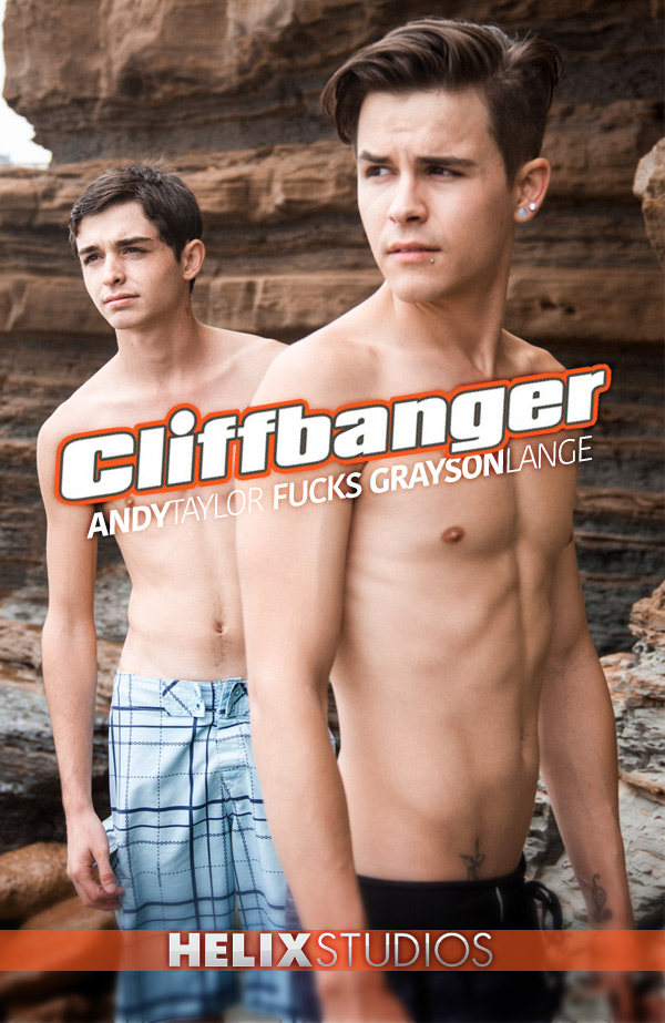 Cliffbanger (Andy Taylor Fucks Grayson Lange) at HelixStudios