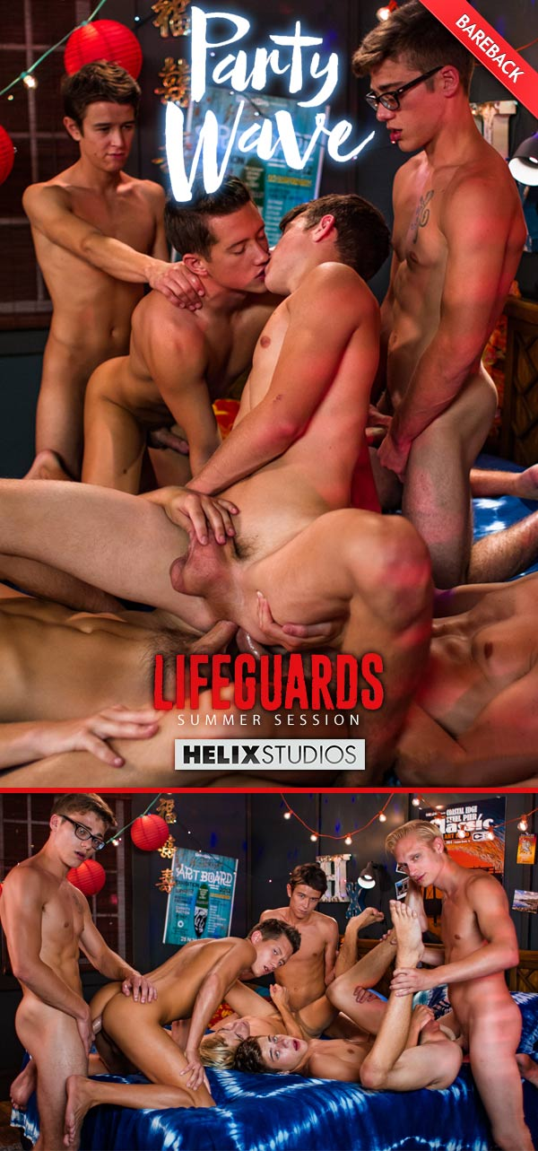 Lifeguards: Sex On The Beach (Max Carter, Kyle Ross, Evan Parker, Tyler Hill, Blake Mitchell & Joey Mills) at HelixStudios