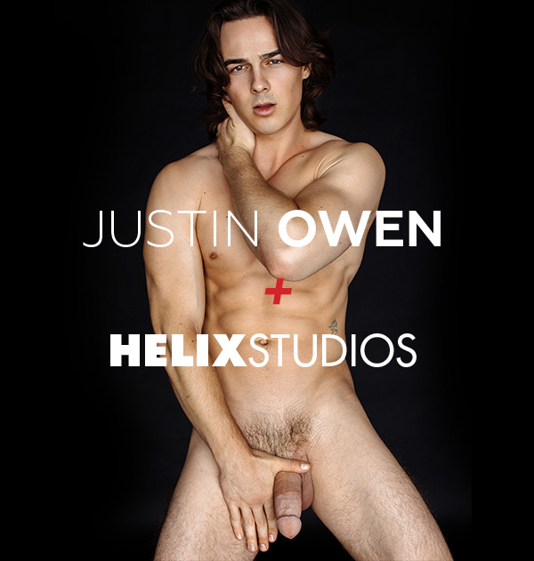 Justin Owen Leaves RandyBlue To Become Exclusive for Helix Studios.