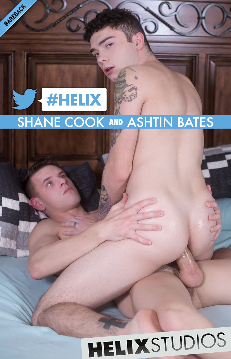 #Helix (Shane Cook Fucks Ashtin Bates) at HelixStudios