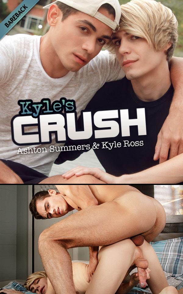Kyle's Crush (Kyle Ross Bottoms For Ashton Summers) at HelixStudios