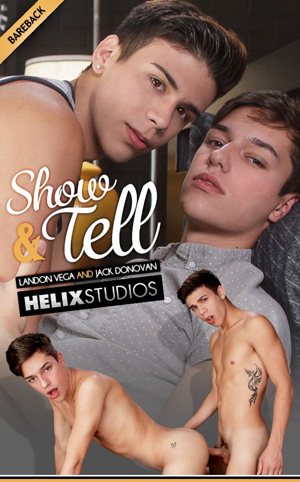Show & Tell (Landon Vega and Jack Donovan Flip-Fuck) at HelixStudios