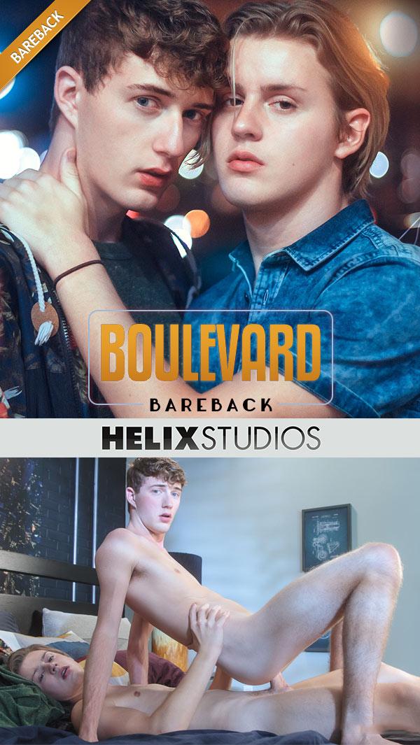 Boulevard Bareback (Wes Campbell Fucks Cameron Parks) at HelixStudios