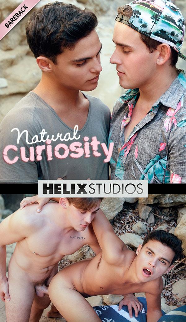 Natural Curiosity (Josh Brady Fucks Gabriel Martin) (Bareback) at HelixStudios