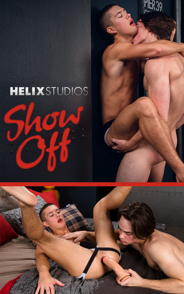 Show Off (Justin Owen Fucks Sean Ford) at HelixStudios