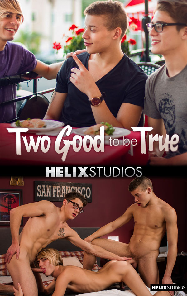 Two Good to be True (Blake Mitchell & Corbin Colby Tag-Team Kyle Ross) at HelixStudios