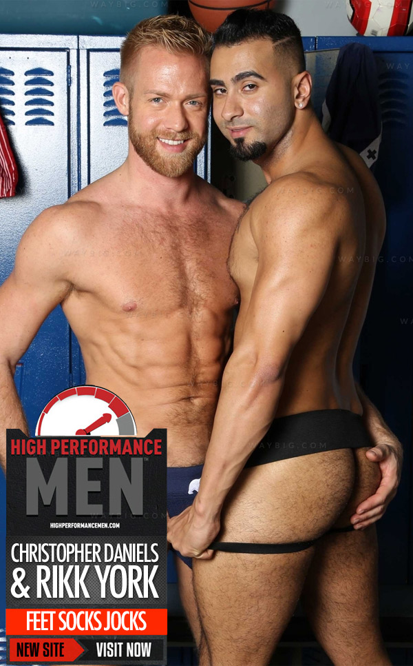 FEET SOCKS JOCKS (Christopher Daniels & Rikk York) at High Performance Men