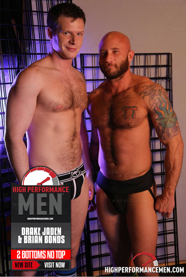 2 BOTTOMS NO TOP (Drake Jaden & Brian Bonds) at High Performance Men