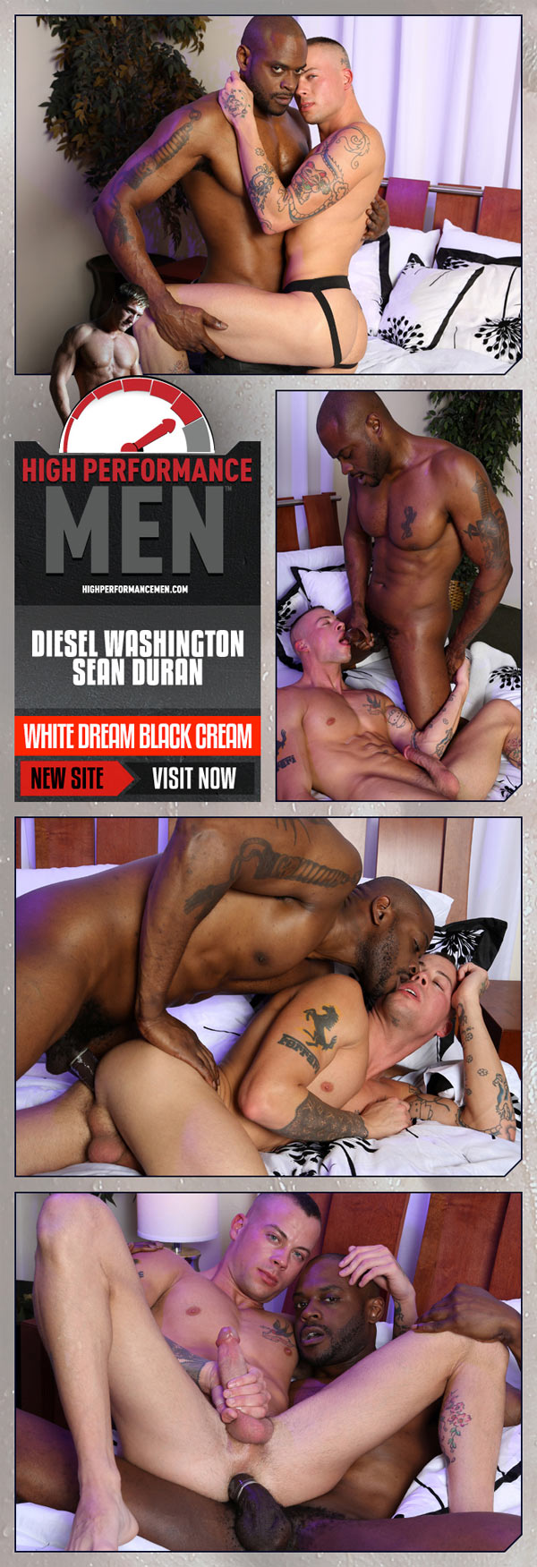 White Dream Black Cream (Diesel Washington & Sean Duran) at High Performance Men