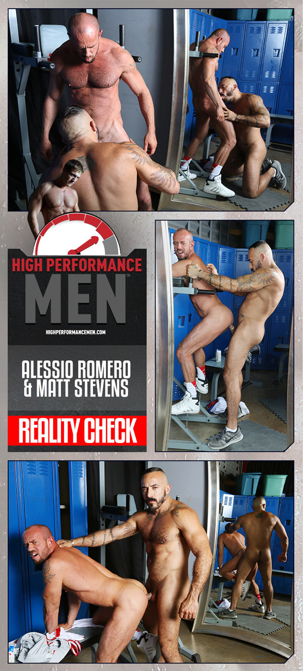 Reality Check (Alessio Romero and Matt Stevens) at High Performance Men