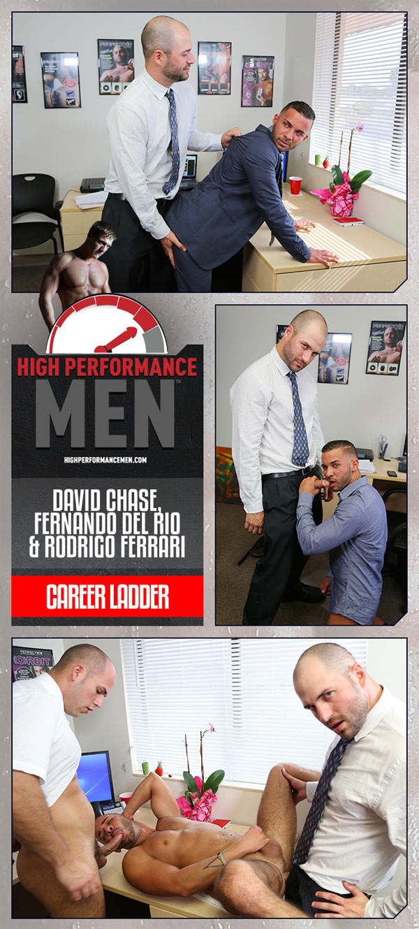 Career Ladder (David Chase, Fernando Del Rio & Rodrigo Ferrari) at High Performance Men