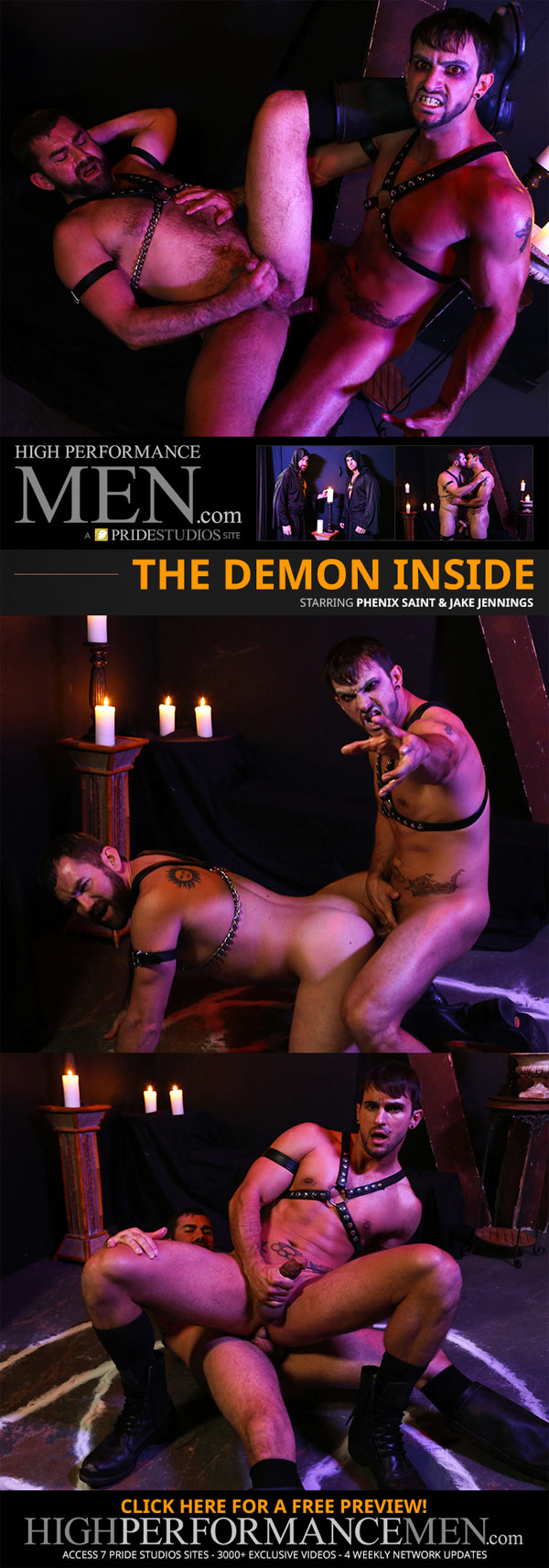 The Demon Inside (Phenix Saint & Jake Jennings) (Flip-Flop) at High Performance Men