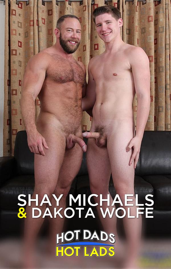 Shay Michaels & Dakota Wolfe at HotDadsHotLads.com