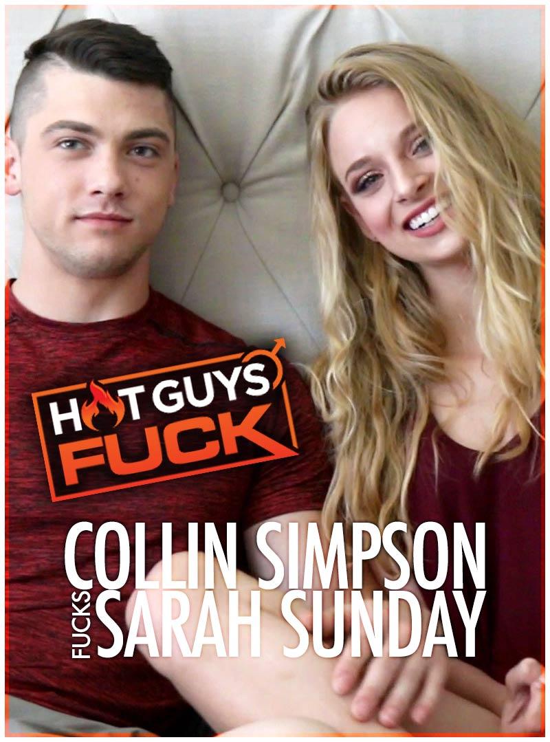 Collin Simpson Fucks Sarah Sunday at Hot Guys FUCK