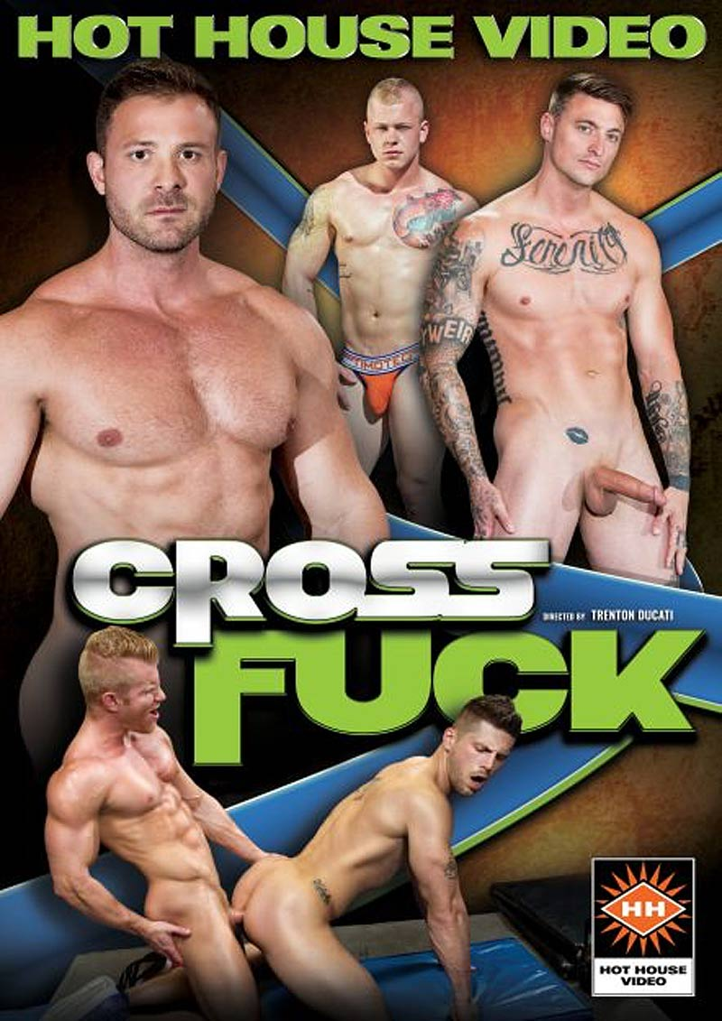 Cross Fuck, Scene 2 (Dante Colle Fucks Dane Stewart) at Hothouse