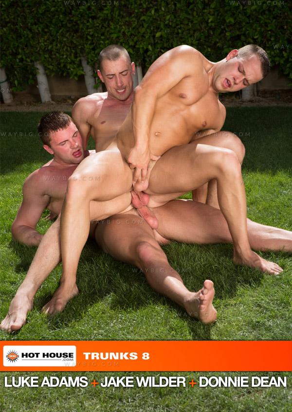 Trunks 8 (Luke Adams, Jake Wilder & Donnie Dean) (Scene 2) at Hothouse