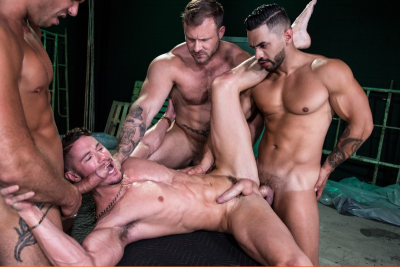 The Fixer (Arad Winwin, Austin Wolf, Skyy Knox and Tyler Roberts) (Scene 4) at Hothouse