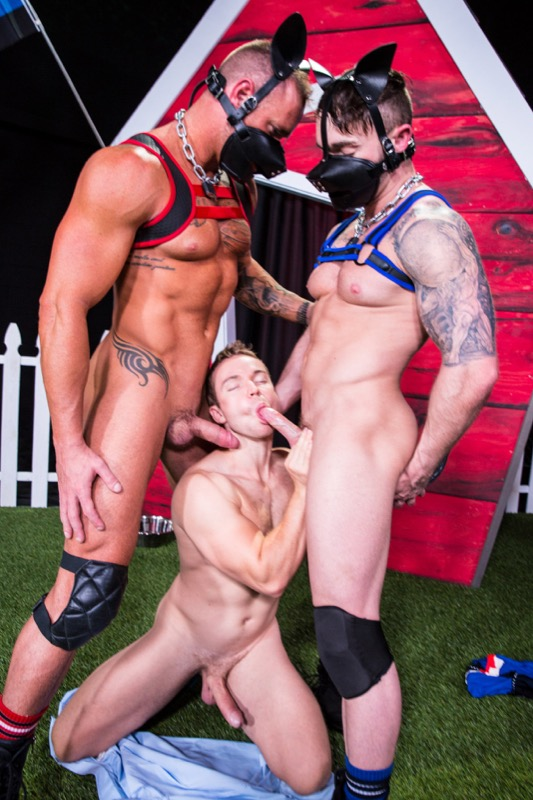 Skuff: Dog House (Gabriel Cross, Michael Roman and Jake Ashford) (Scene 1) at Hothouse