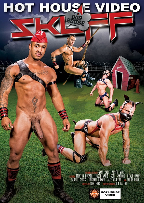 Skuff: Dog House (Trenton Ducati Fucks Skyy Knox) (Scene 2) at Hothouse