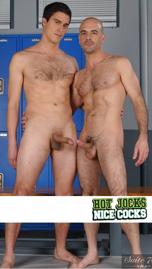 Adam Russo & Mike Martinez at HotJocksNiceCocks