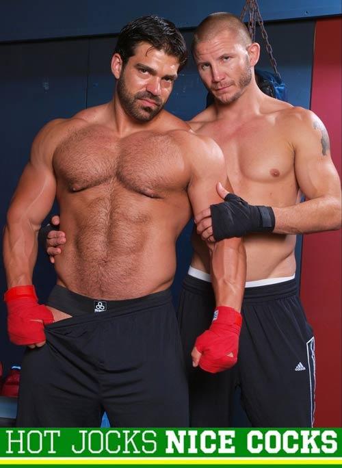 Brenn Wyson & Vince Ferelli at HotJocksNiceCocks