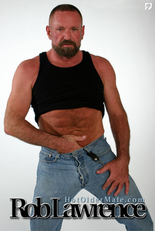 Rob Lawrence at HotOlderMale