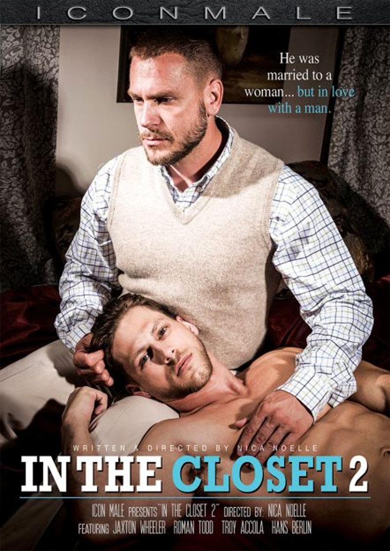In The Closet (Jaxton Wheeler Fucks Troy Accola) (Scene 4) at Icon Male