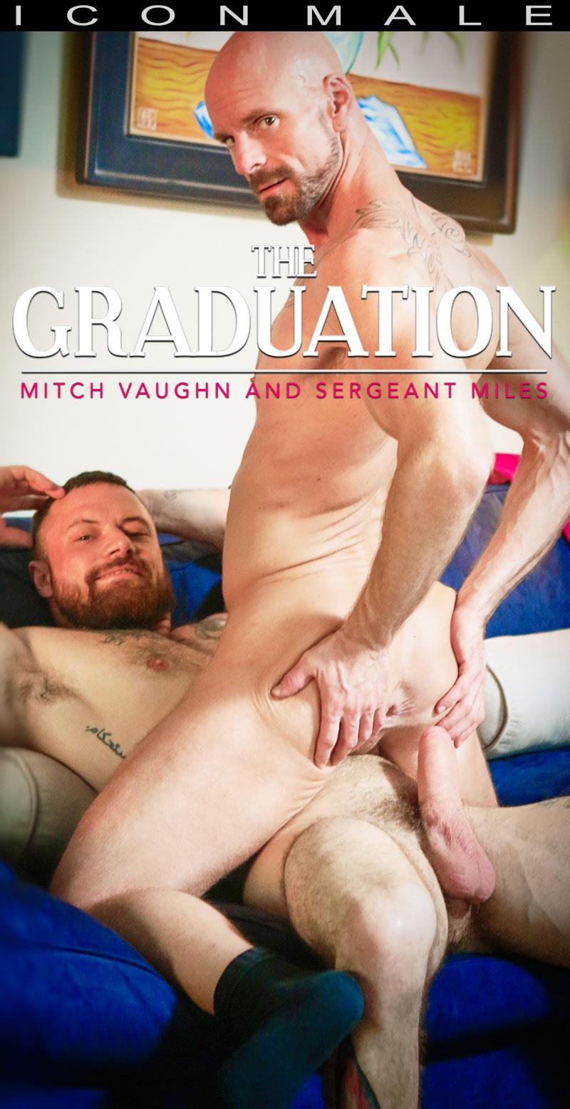 The Graduation (Sergeant Miles Fucks Mitch Vaughn) (Scene 2) at Icon Male