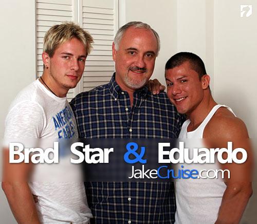 Brad Star & Eduardo at Jake Cruise