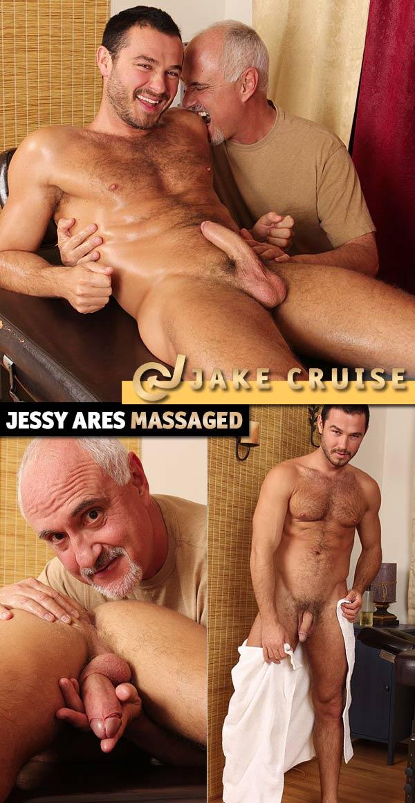 Jessy Ares (Massaged) at JakeCruise