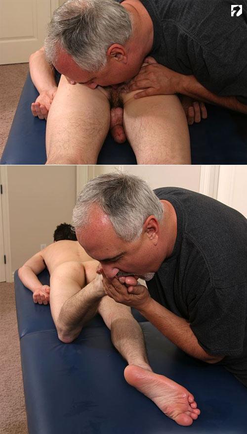 Derek Nicks' Massage at Jake Cruise