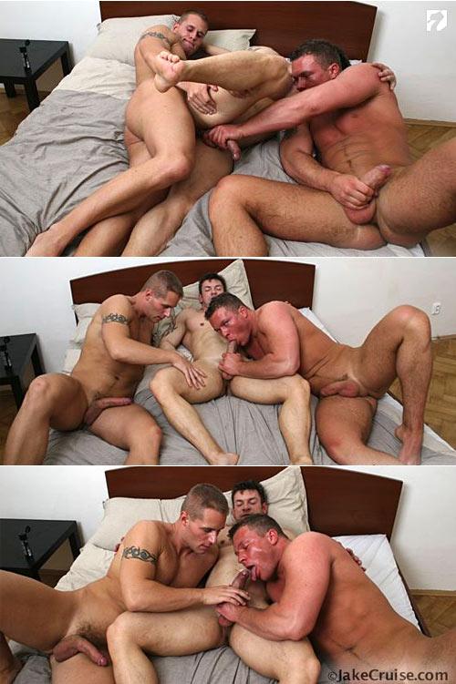 Jason, Olda & Lubor at Jake Cruise