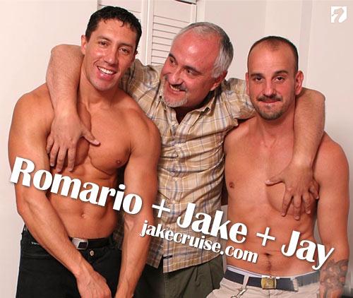 Romario, Jake & Jay at Jake Cruise
