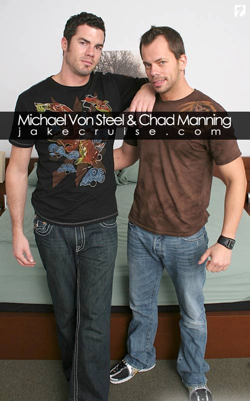 Michael Von Steel & Chad Manning at Jake Cruise