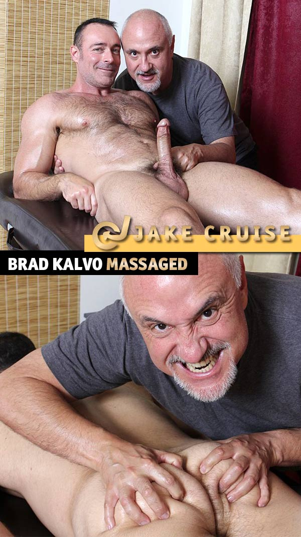 Brad Kalvo (Massaged) at JakeCruise