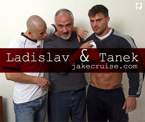 Ladislav and Tanek at Jake Cruise