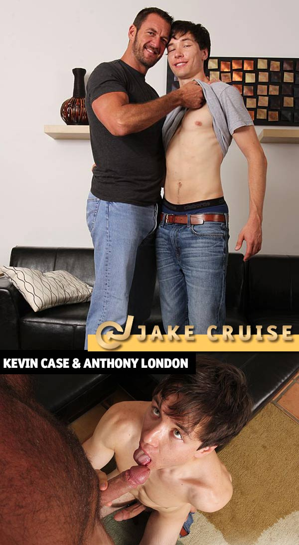 Kevin Case & Anthony London (Flip-Flop) at JakeCruise