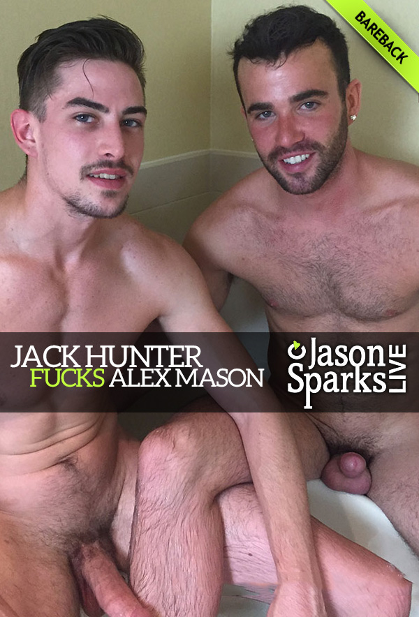 Jack Hunter Fucks Alex Mason (BAREBACK in Omaha) at Jason Sparks Live