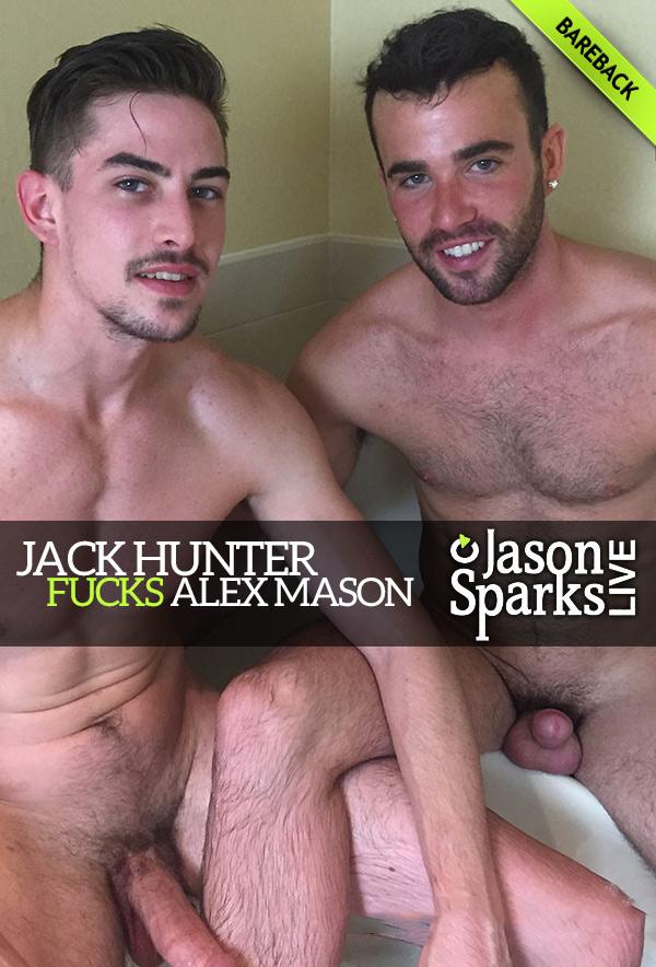 Jack Hunter Fucks Alex Mason (BAREBACK in Omaha) at Jason Sparks Live