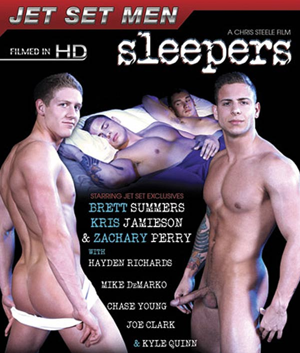 Brett Summers, Kris Jamieson, Zachary Perry, Hayden Richards, Chase Young, Joe Clark, Kyle Quinn & Mike DeMarko at JetSetMen.com