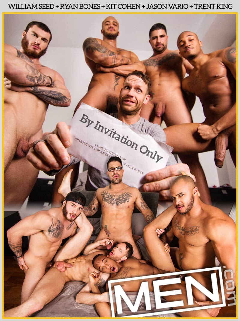 By Invitation Only (William Seed, Ryan Bones, Kit Cohen, Jason Vario and Trent King) at MEN.com