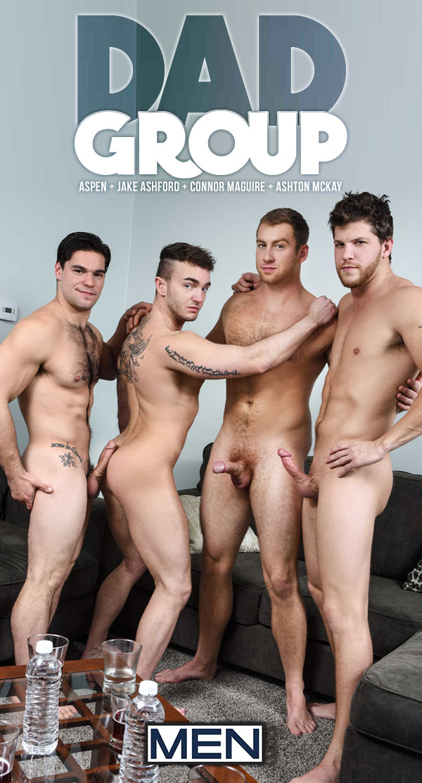 Dad Group (Ashton McKay, Aspen, Connor Maguire and Jake Ashford) (Part 3) at Jizz Orgy