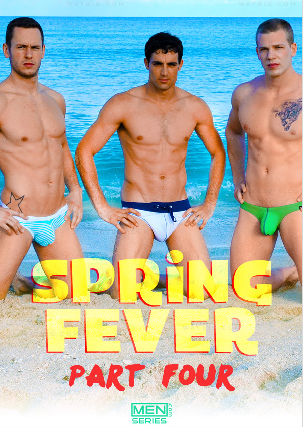 Spring Fever (Asher Hawk, Dalton Pierce, Donny Forza, Jack King & Johnny Forza) (Part 4) at JizzOrgy