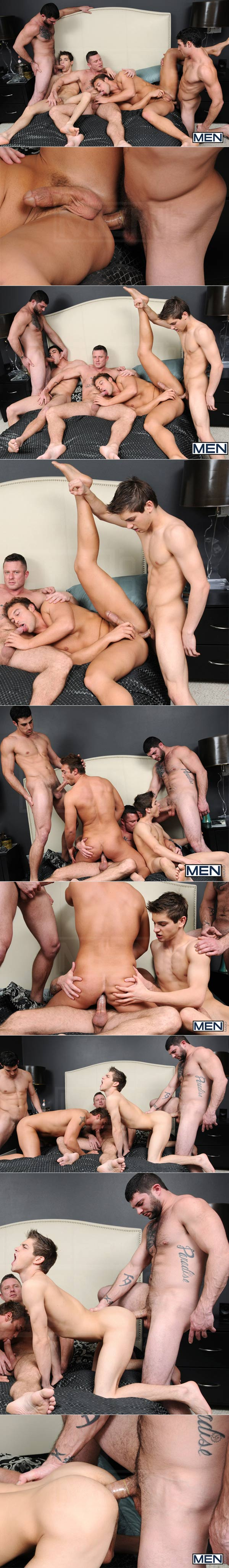 Tops Only Required (Johnny Rapid, Tony Paradise, Rocco Reed, Charlie Harding & Jack King) at JizzOrgy