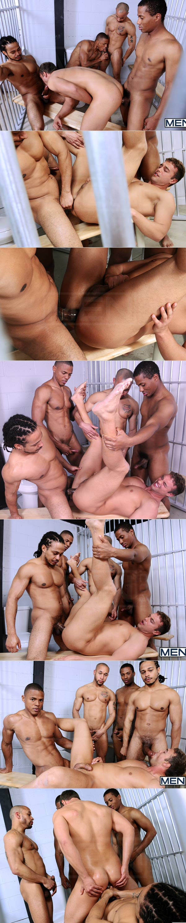 Rocco's Fantasy (Rocco Reed, Lawson Kane, Castro Supreme, Paulo Thiago & Brett Johnson) at JizzOrgy